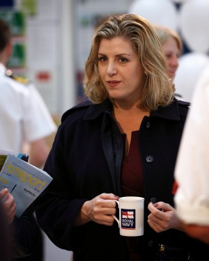 NFF LAUNCH NEW BRANDING AND STRATEGY Pictured: Armed Forces Minister, Penny Mordaunt MP, visitng NCHQ The Naval Families Federation (NFF) launched their new branding and strategy today, 20th May 2016, in the lower atrium of NCHQ. The First Sea Lord gave an opening address along with the Director of NFF, Anna Wright. The Armed Forces Minister, Penny Mordaunt MP, was also in attendance. Image: L(Phot) Paul Hall