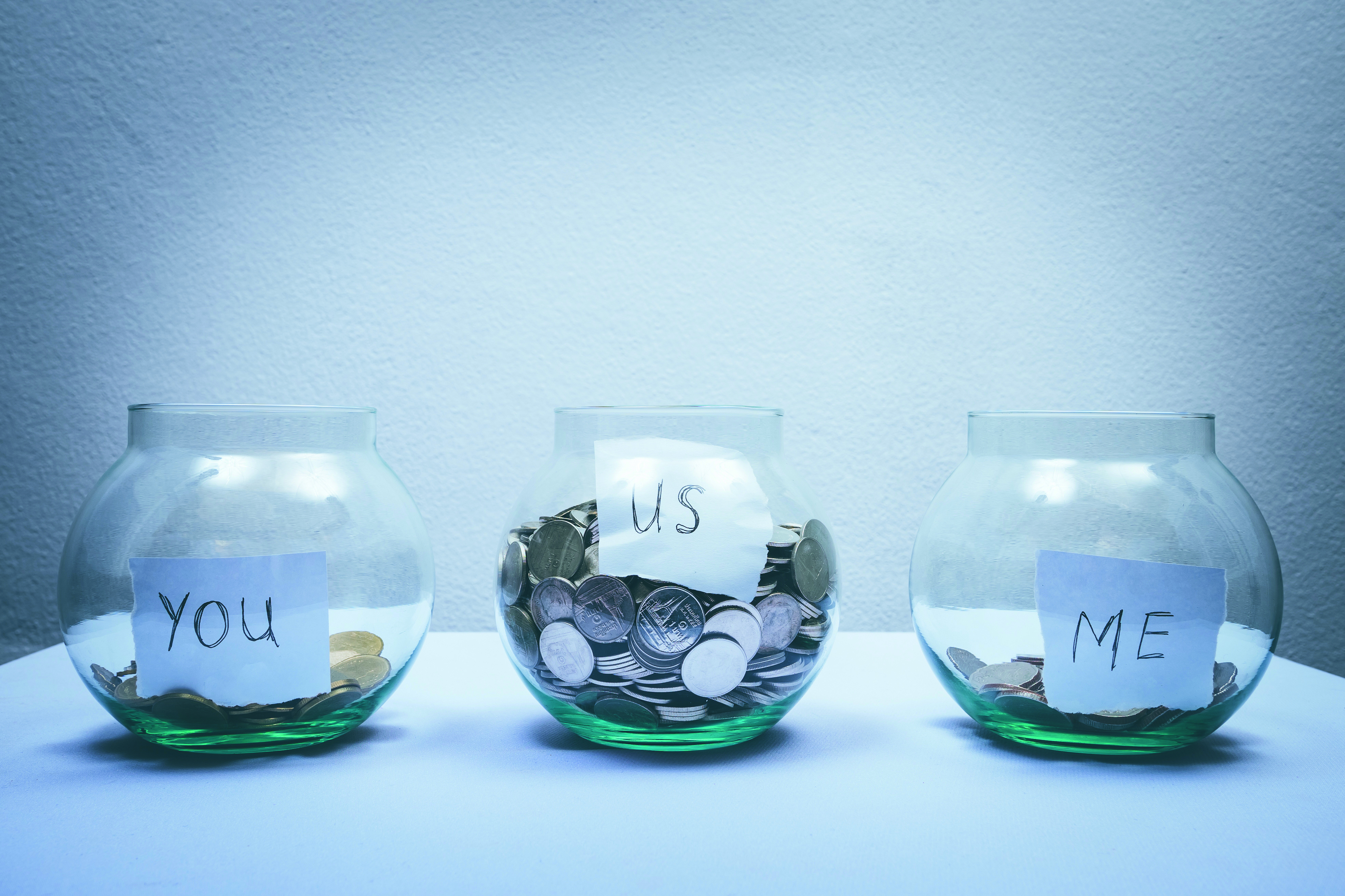 Saving money for the future