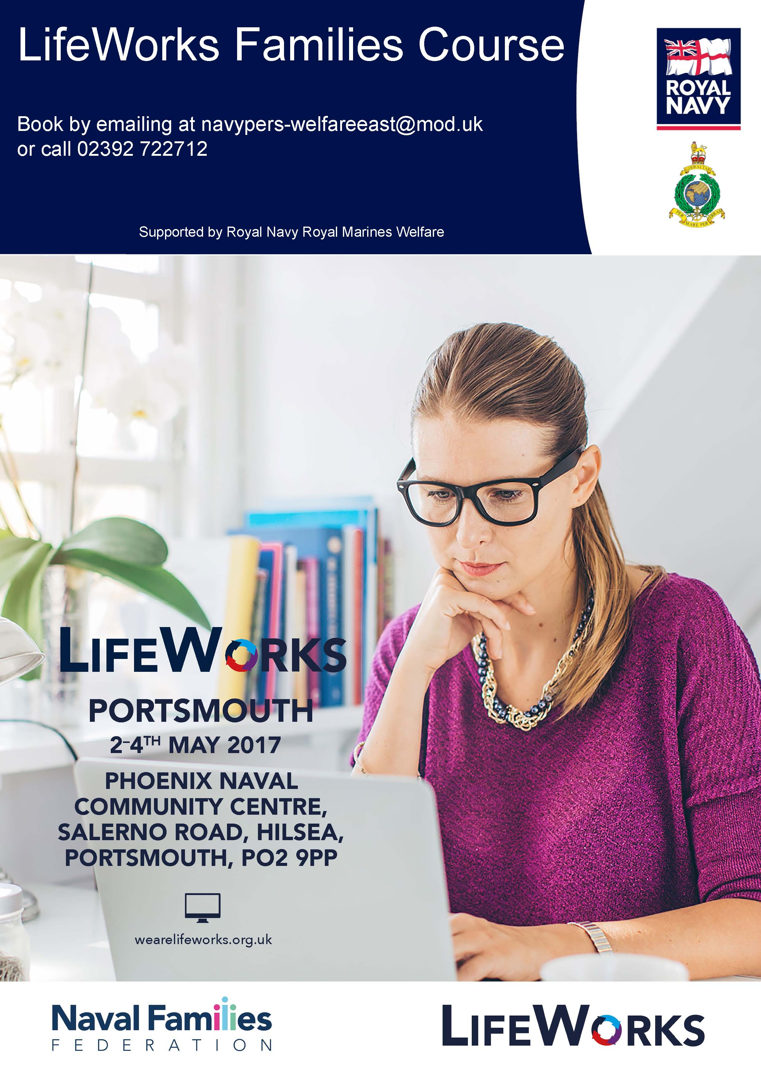 LifeWorks Families course poster May (003)