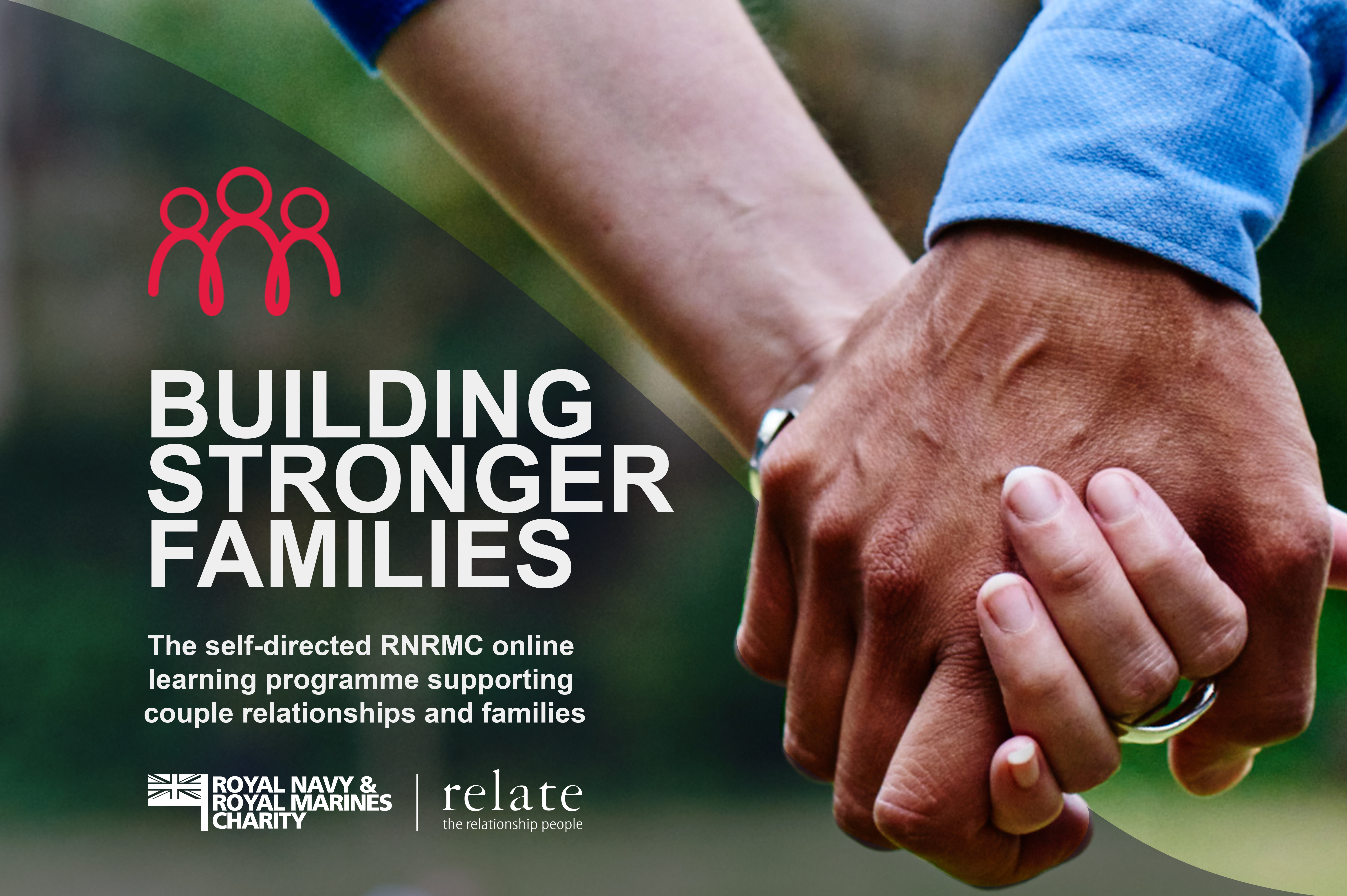 Building stronger families poster.