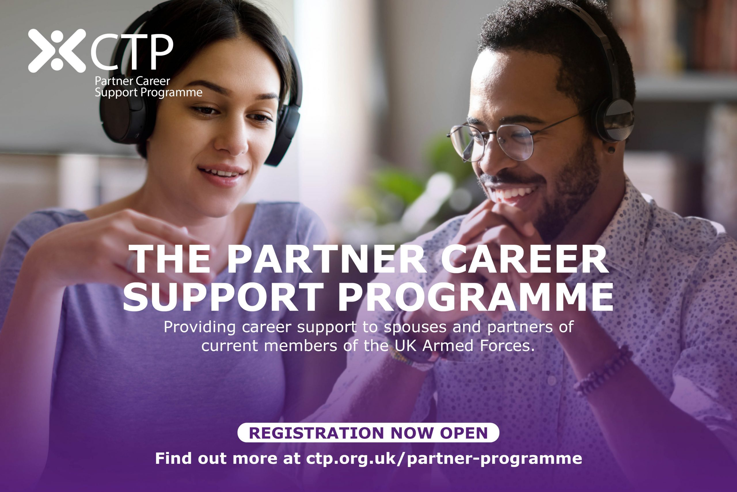 Partner Career Support Programme - registration now open